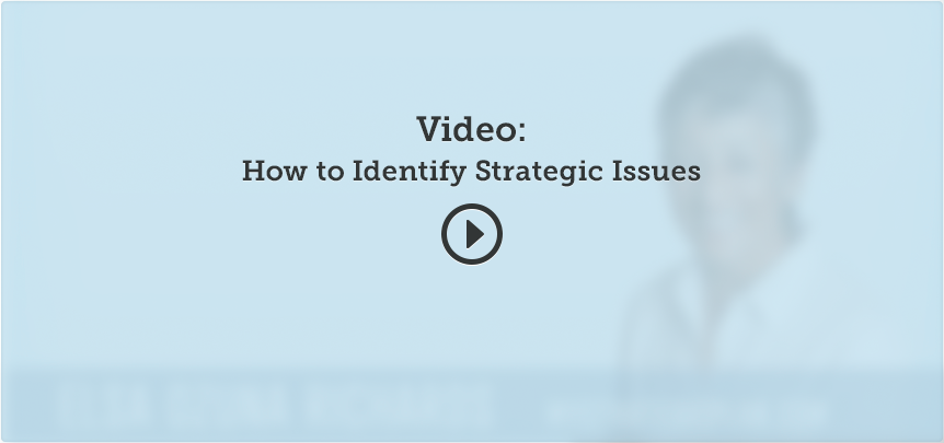 Phase 1 determine your strategic position