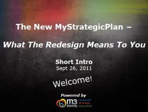 New Features of our Strategic Planning Software – What This Redesign Means To You (6 mins)