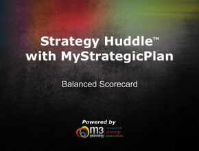 How to use the Balanced Scorecard (17 mins)
