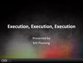 Strategy Topic: Execution, Execution, and Execution (59 mins)