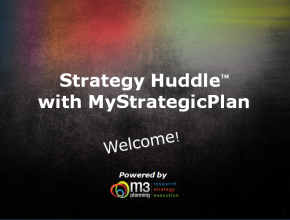 Strategy Huddle: Innovation Strategies (58 mins)