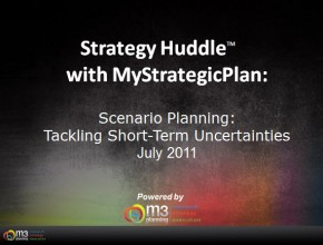 Scenario Planning: How to Tackle Short-Term Uncertainties (8 Mins)