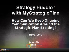 How to Keep a Strategic Plan Exciting (5 mins)