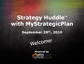 Strategy Huddle: Effectively Produce & Use an Environmental Scan (51 mins)