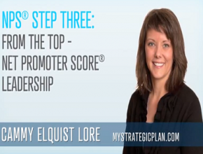 NPS Step 3: From the Top – Net Promoter Score Leadership (3 mins)