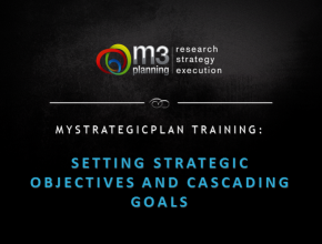 Setting Strategic Objectives and Cascading Goals Training (38 mins)