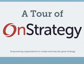 A 3-Minute Tour of OnStrategy