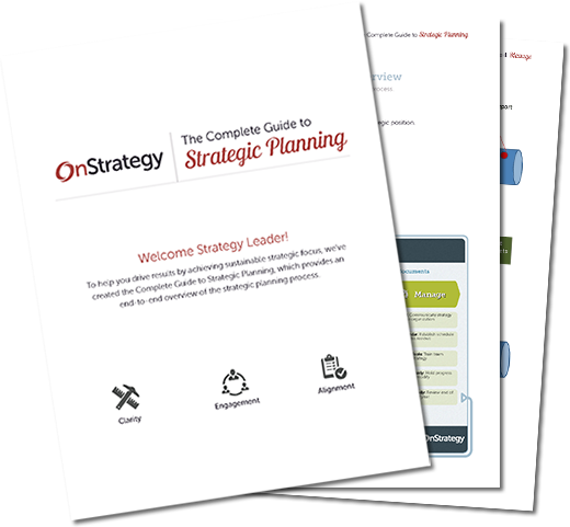 OnStrategy the Complete Guide to Strategic Planning