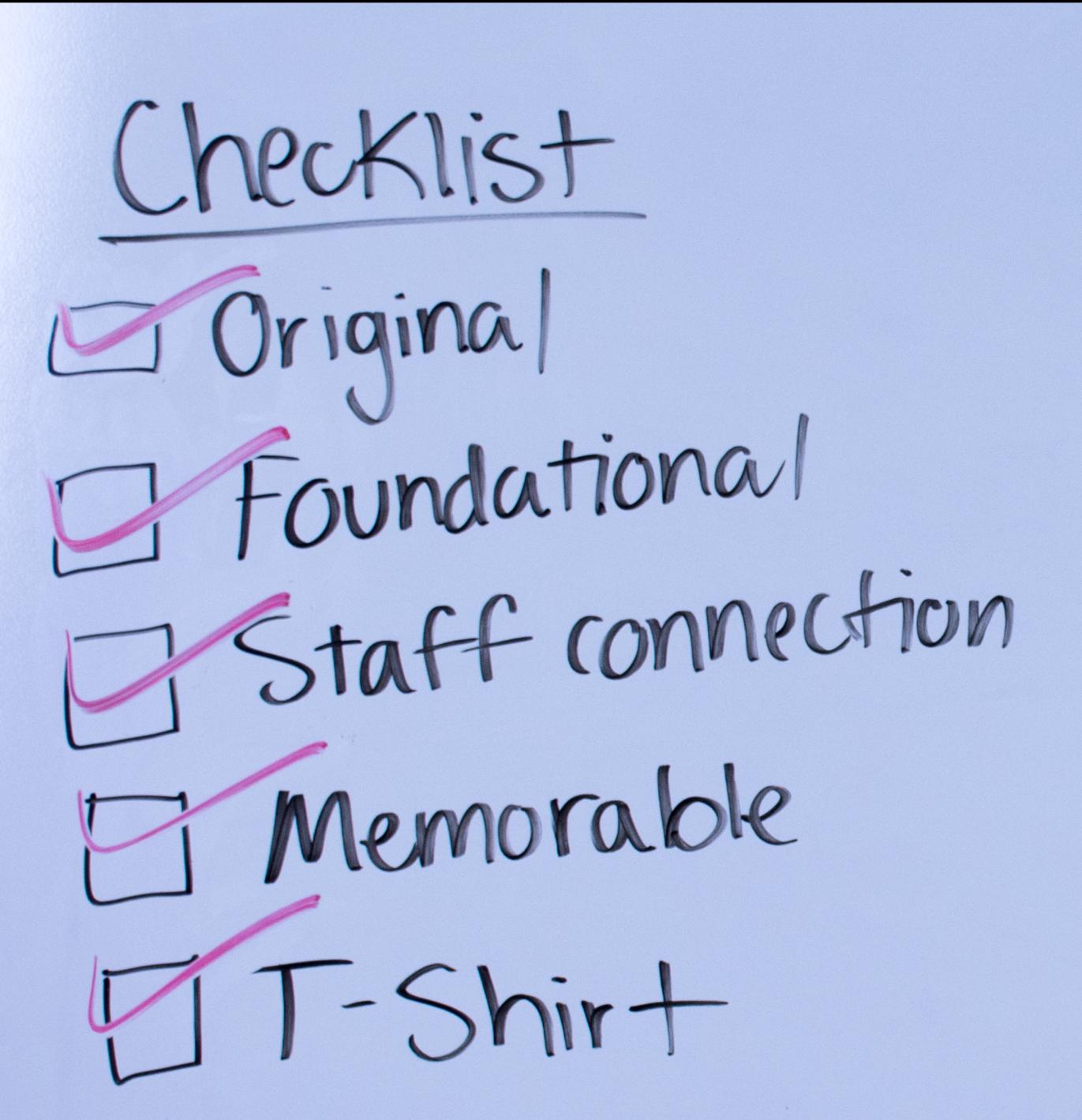 Write a strategy statement