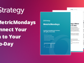 Use MetricMondaysTM to Connect Your Vision to Your Day-to-Day